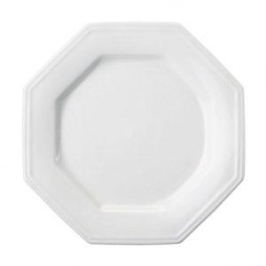 Prato de Mesa Oitavado Porcelanato (Shimidt)